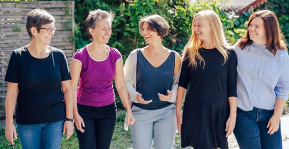 Brigitte Grasser, Susanne Agy, Kerstin Slamanig, Claudia Zülsdorff, Marlies Zechner